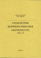 Buch Friedrich_Charaktere_II Homöopathie bunkahle.com