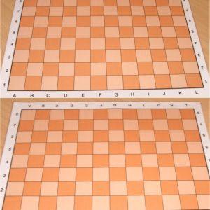 Schachbrett Courier Schach Schach/AS Bunkahle