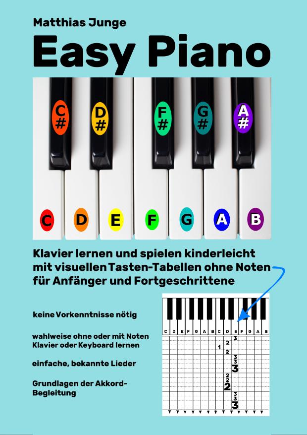 Die Reihe EASY PIANO von Matthias Junge