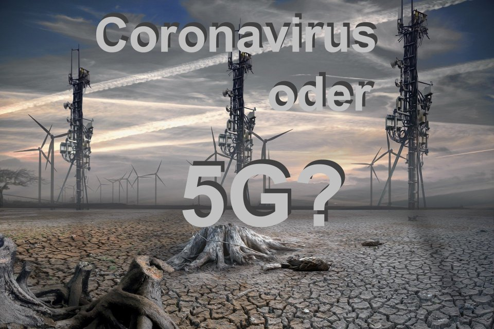 Illustration Coronavirus 5G Mobilfunk Bunkahle