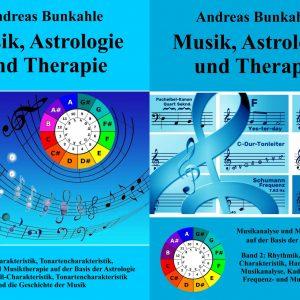 Buchserie Musik und Astrologie und Therapie Band 1 2 Bunkahle