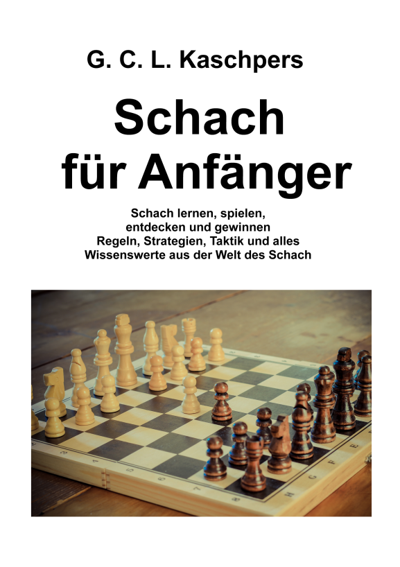 Buch Cover Schach Anfänger Bunkahle
