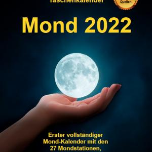 Kalender Taschenkalender Mond 2022 Bunkahle