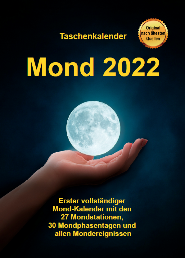 Mondkalender 2022 erschienen!