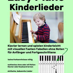 Easy Piano Kinderlieder Cover Bunkahle