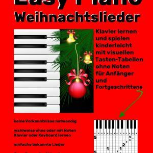 Easy Piano Weihnachtslieder Cover Bunkahle